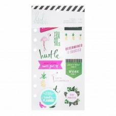 Adesivos - Heidi Swapp Memory Planner Cardstock Stickers Fresh Start, Tropical